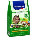 Vitakraft Alleinfutter für Degus, Gemüse, Luzerne, Blüten TriVita-Complex, Emotion Beauty Selection All Ages (5 x 600g)