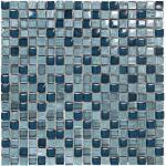 Viva-2 azzurra 1,5 x 1,5 cm Mosaikfliesen