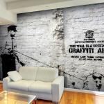 Vlies Fototapete Graffiti Area (Bansky)