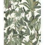 Vliestapete 630307 Paradisio Floral grün