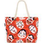 VOID Strandtasche (1-tlg), Kabuki Masken Japan Kabuki Masken Japan Kendo Kostüm Kunst Asien Kult, bunt