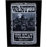 Volbeat Wanted Rückenaufnäher
