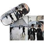 VON LILIENFELD Brillenetui Gustave Caillebotte: Paris im Regen Hardcase Box Leicht Geschenk Stabil Set mit Putztuch Kunst