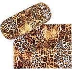 VON LILIENFELD Brillenetui Leopard Raubkatze Brillenputztuch Brillenbox Stabiles Hardcase Set mit Putztuch Animal Print