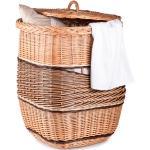 Wäschekorb aus Weide Lino IV. - Weidenkorb B 40 x T 40 x H 53(cm)