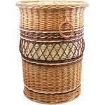 Wäschekorb aus Weide rund Lino II. Ø 45 x H 60(cm)