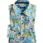 Walbusch Herren Hemd Liberty Buena Vista mehrfarbig Blau/Bunt