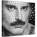 Schwarze Moderne Freddie Mercury Wohnaccessoires