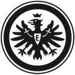 Wall-Art Wandtattoo Fußball Eintracht Frankfurt Logo schwarz Wandtattoos und Wandsticker Wohnaccessoires