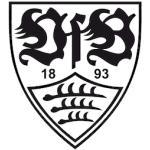 Schwarze VfB Stuttgart Aufkleber
