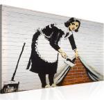 Wandbild - Maid in London by Banksy   90x60 cm