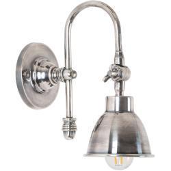 Wandlampe Pasco Silber