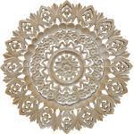 Wandobjekt Evina, rund, geflammt, Mandala, Wanddekoration, Geschenk, Relief