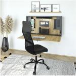 Wandschreibtisch »Home Office« 120 cm breit grau, HAMMERBACHER, 120x65x26 cm