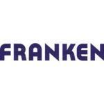 Wandtafel Straßenkarte FRANKEN KA301P pinnbar