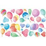 "Wandtattoo-Set ""Luftballons"" in Bunt"