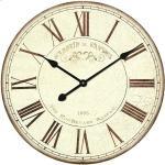 Wanduhr rund (Beige, Durchmesser: 50 cm)