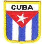 Wappen Aufnäher Patch Kuba/Cuba Flagge Fahne NEU