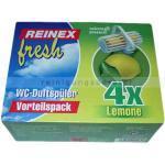 WC-Duftspüler Reinex Lemon 4x30g Frische für Ihr WC