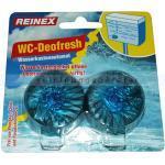 WC-Duftspüler Reinex Wasserkastenautomat 2er Set blau einfacher und wirksamer Schutz vor Urinstein