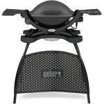 Weber Q 1400 Stand Elektrogrill Dark Grey Edition 2021