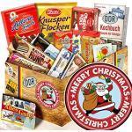 Weihnachtsmann + Set mit DDR Süßigkeiten + Geschenkeset Weihnachten für Ehefrau