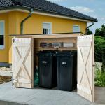 Weka Fahrrad-Multibox (Höhe: 151 cm, Wandstärke: 19 mm, Massivholz)