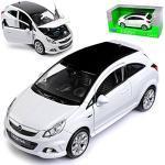 Weiße Welly Opel Corsa Spiele & Spielzeuge