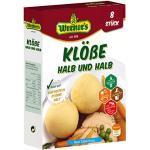 Werner's Klöße Halb & Halb 8 Stück, 10 Packungen pro Karton, glutenfrei, laktosefrei, zum selbstformen, ohne Farbstoffe, ohne zugesetzte Aromen, (6,85 € / kg)