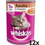 Whiskas Adult Feed mit Ente in Gelee für Katze 12x400g (Rabatt für Stammkunden 3%)