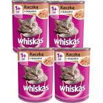 Whiskas Adult Feed mit Ente in Gelee für Katze 4x400g (Rabatt für Stammkunden 3%)