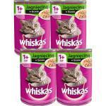 Whiskas Adult mit Lammfleisch in Katzensauce 4x400g (Rabatt für Stammkunden 3%)