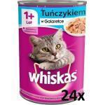 Whiskas Adult mit Thunfisch in Gelee für Katze 24x400g (Rabatt für Stammkunden 3%)