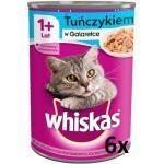 Whiskas Adult mit Thunfisch in Gelee für Katze 6x400g (Rabatt für Stammkunden 3%)