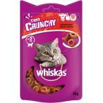 Whiskas Katzensnack 'Trio Crunchy Treats' Adult, mit Huhn, Lamm und Rind, 55 g
