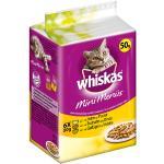 Whiskas Mini Menüs mit Huhn, Truthahn und Geflügel 6 x 50 g - 12 Stück