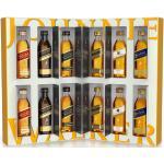 Whisky Dicovery Box Johnnie Walker Miniaturen Geschenkpackung (12 x 5cl Blend...