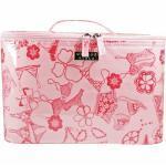 Wicked Sista Wicked Sista WS Frills Pink Large Beauty Case Kosmetiktaschen & Beautycases 1.0 g Damen
