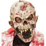 Widmann 00396 - Maske Blutiger Menschenfresser Zombie, Accessoire, Halloween, Karneval