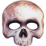 Widmann 05700 Maske Skelett kinnlos, Weiß, One Size