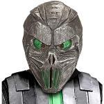 Widmann 96582 Maske Space Alien, Mehrfarbig, Taglia unica