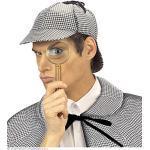 Widmann wdm3323h–Kostüm für Erwachsene Mütze Detective, Mehrfarbig, Einheitsgröße