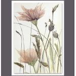 Wiedemann BILD Blumen, Mehrfarbig, Metall, Kunststoff, 65x50 cm