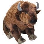 Wild Republic 19307 Jumbo Plüsch Bison Wisent, großes Kuscheltier, Plüschtier, Cuddlekins, 76 cm
