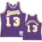 Wilt Chamberlain 13 Los Angeles Lakers 1971-72 Mitchell & Ness Road Swingman Trikot XXL