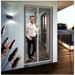 Windhager Insektenschutz-Tür EXPERT Plissee, BxH: 120x240 cm weiß Fliegengitter Insektenschutz Bauen Renovieren