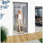 Windhager Insektenschutz-Vorhang, BxH: 100x220 cm weiß Insektenschutz-Vorhang Insektenschutztür Insektenschutz Bauen Renovieren