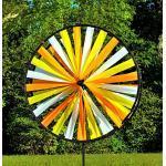 Windspiel Magic Wheel Doppel Windrad Gartenwindmühle Garten Wind Rad Mühle Duett