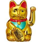 Winkekatze in Gold - (H)16 cm