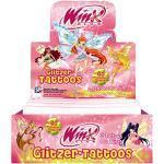 Winx Club Glitzer-Tattoos - Display mit 26 Tüten